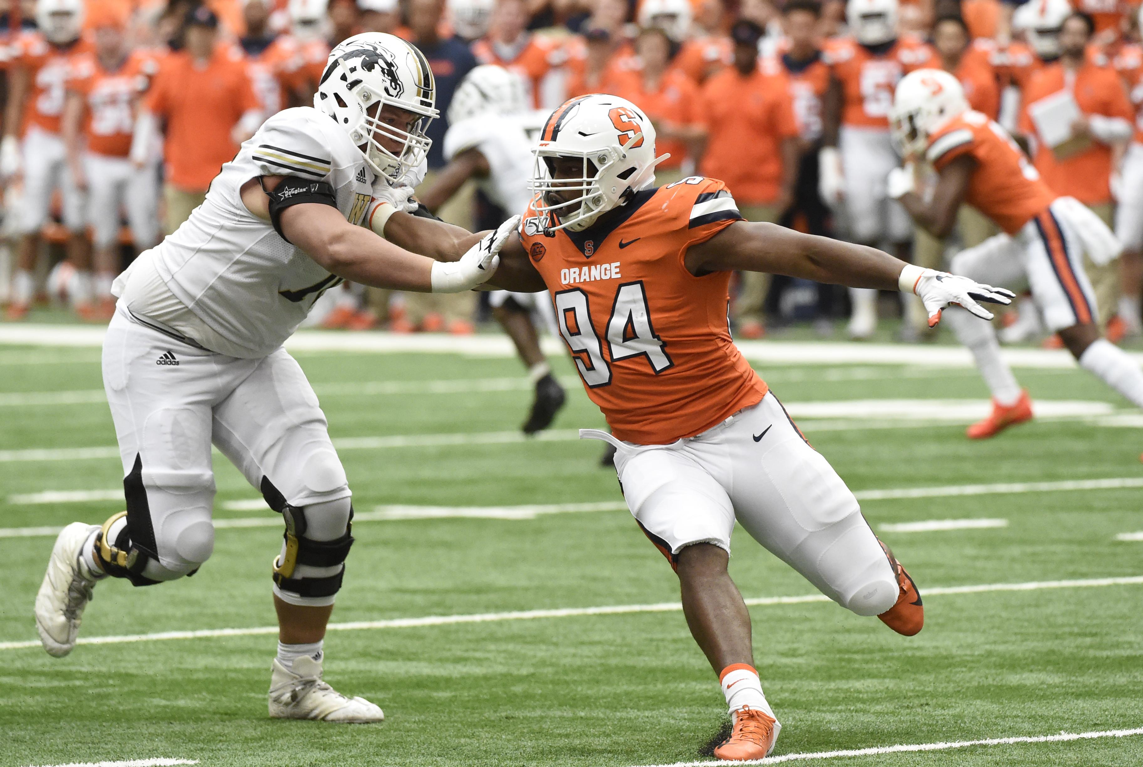 Syracuse football's Alton Robinson a first-round pick in CBS' mock NFL Draft
