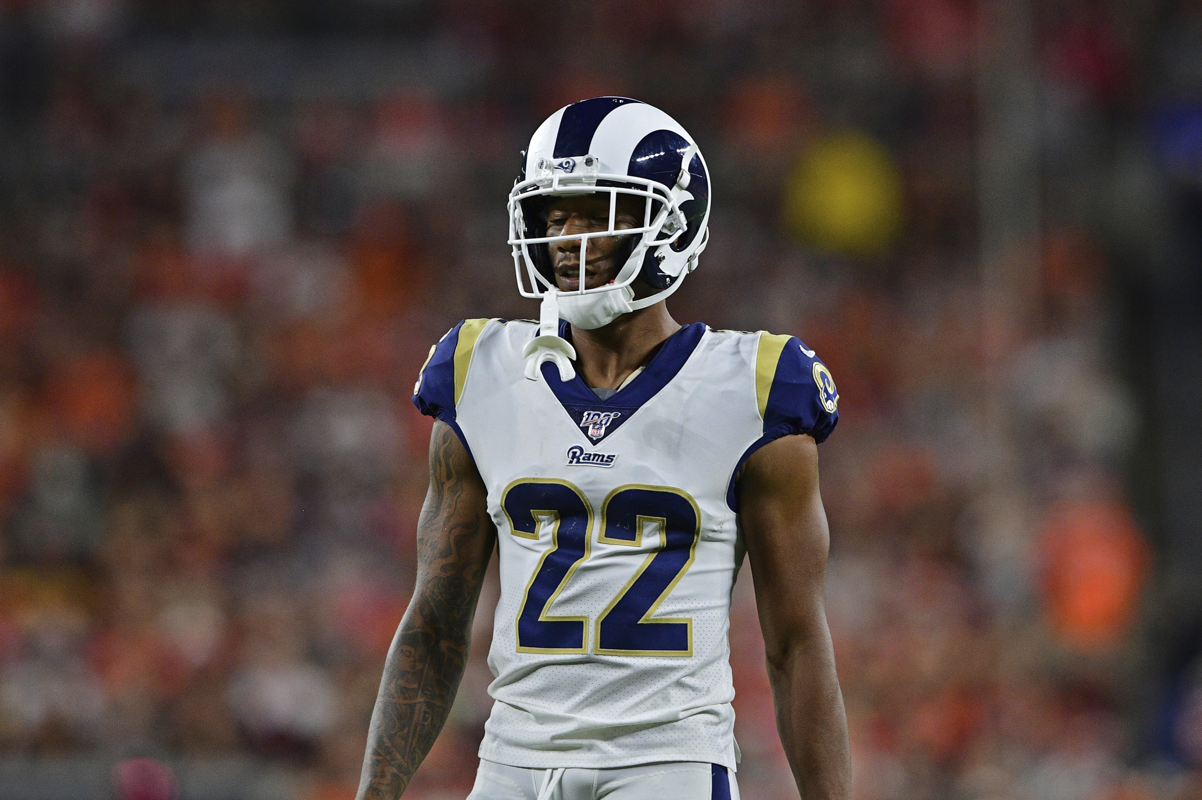 Baltimore Ravens trade for cornerback Marcus Peters, give up one player and a pick