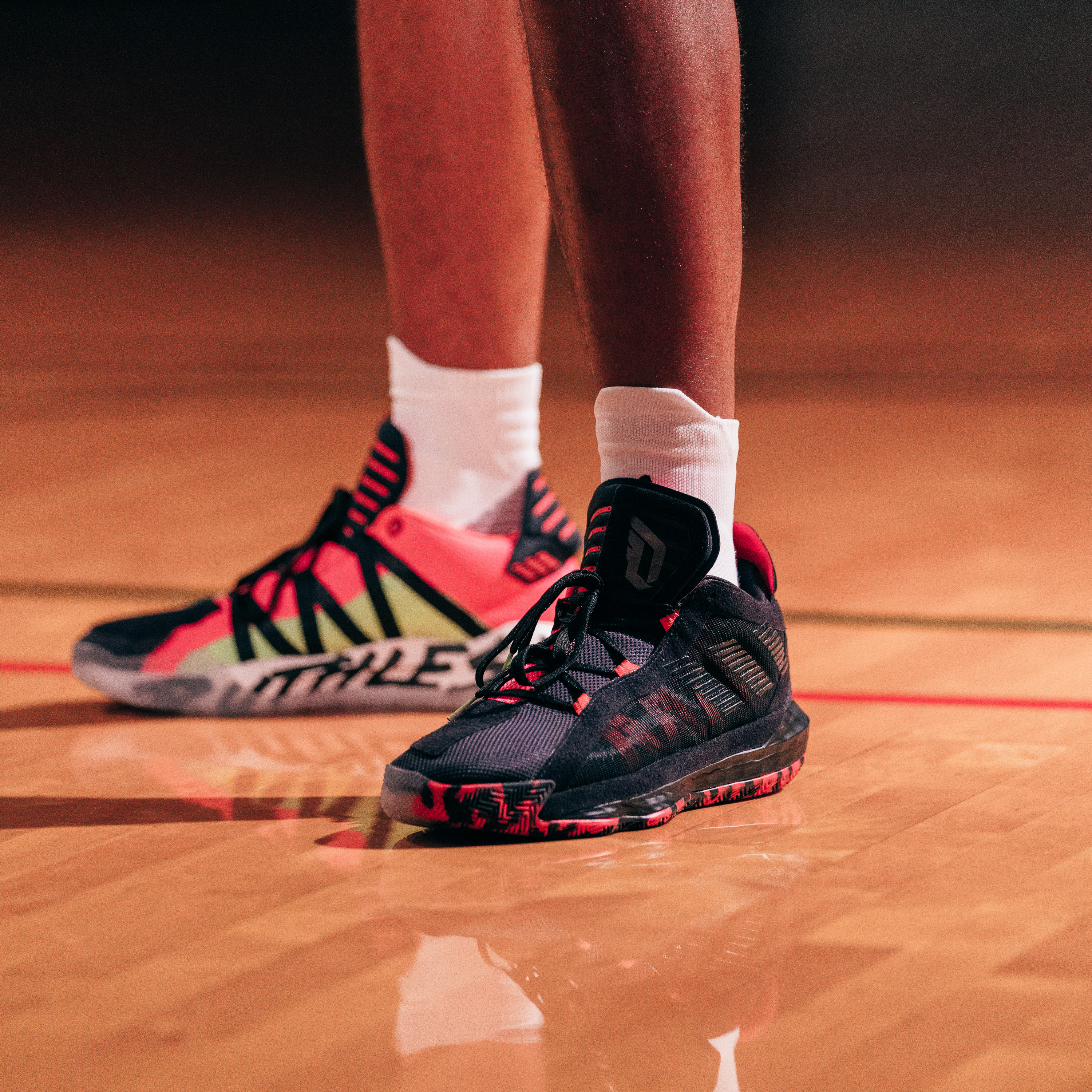 Damian Lillard S Latest Adidas Shoe Unveiled The Dame 6 Ruthless Hits Stores November 29 Oregonlive Com