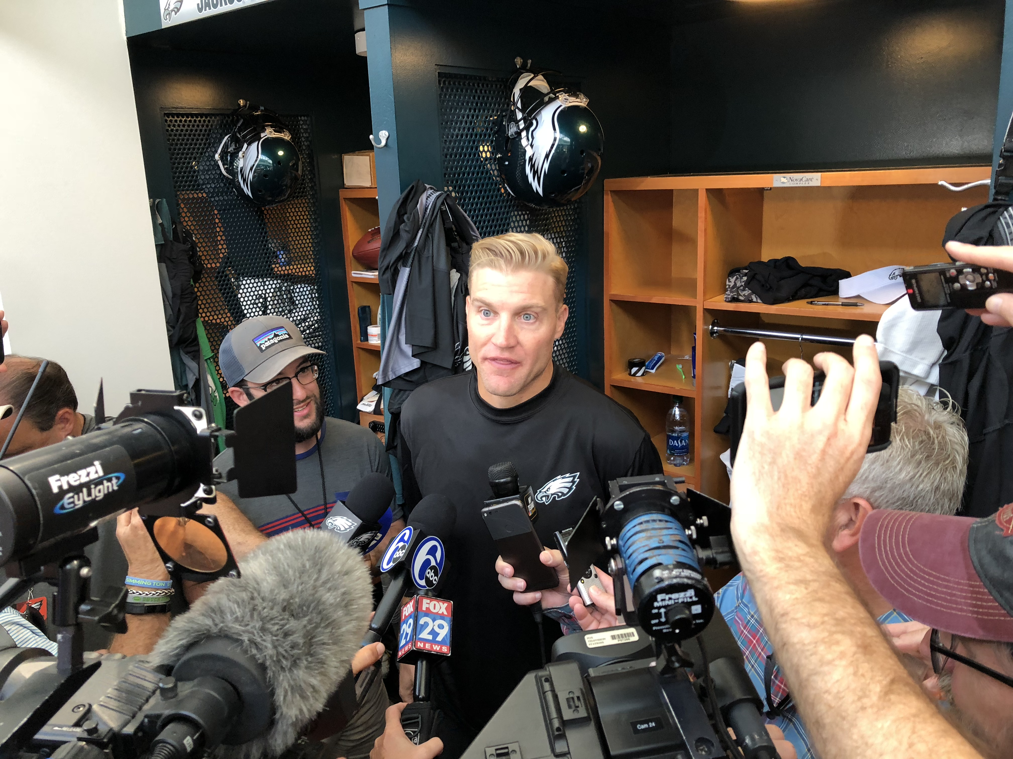 Analyzing state of Eagles QB room with Josh McCown, Nate Sudfeld behind Carson Wentz (PODCAST)