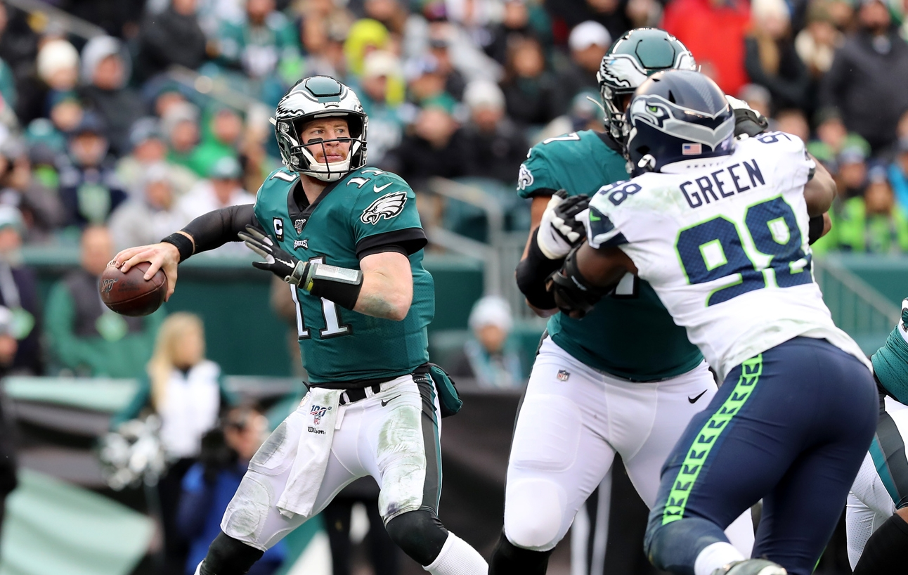 Seahawks vs. Eagles RECAP: With Carson Wentz out, gritty Eagles fall, 17-6,  in NFC Wild Card Game - nj.com