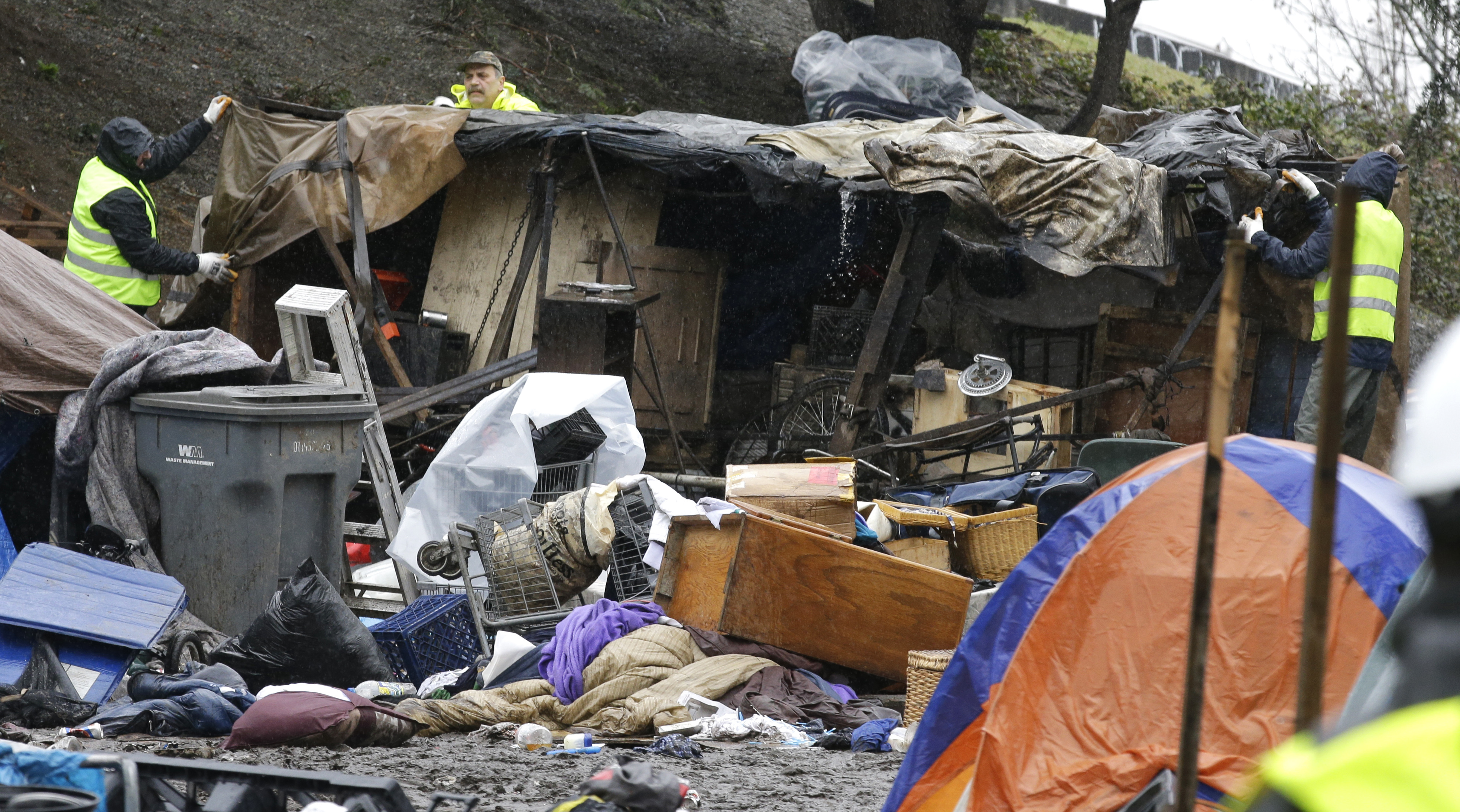 Seattle officer who cleaned up homeless camps files $10M claim