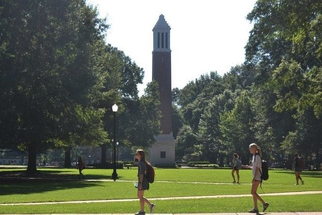 University of Alabama instructor suspended after video shows someone drink beer in class