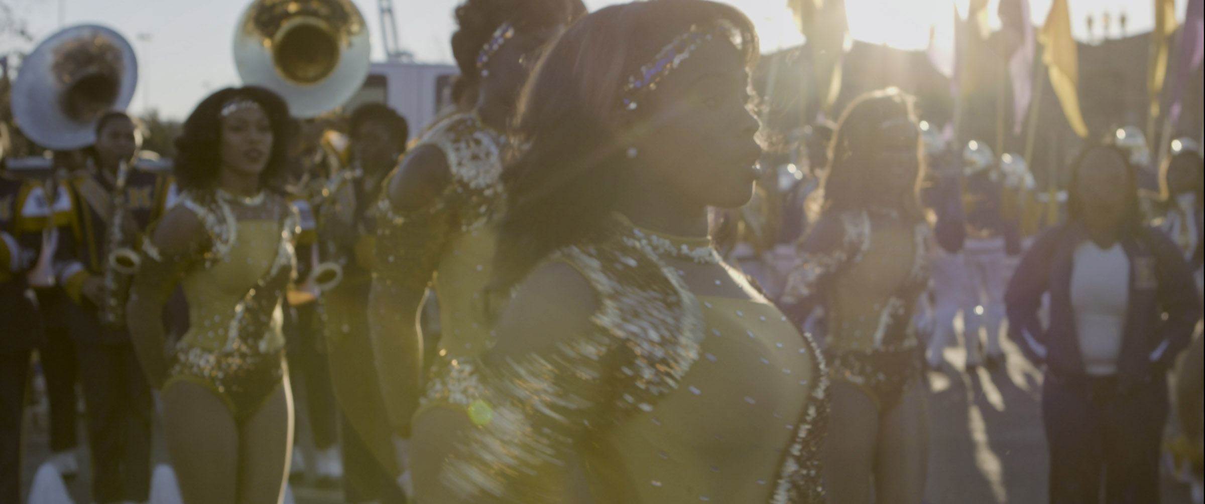 "An image from director Lily Keber's film ""Buckjumping,"" about the place of dance in New Orleans culture."