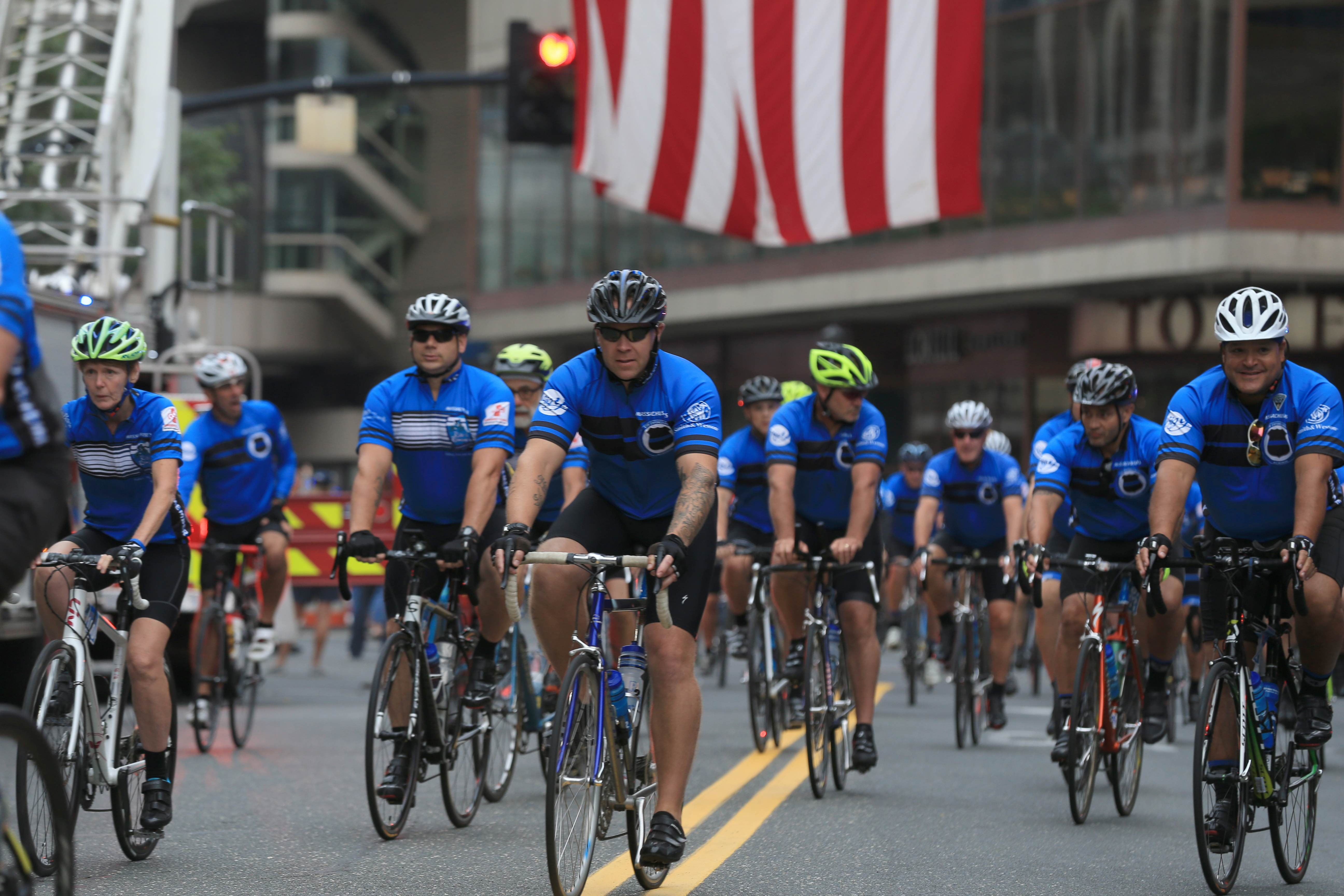 Ride to Remember, the annual tribute to fallen police and firefighters, launches 100+ mile bike ride from Springfield to Boston on Saturday