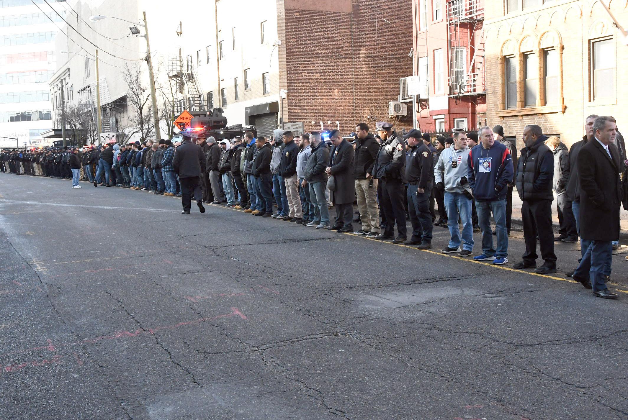Law enforcement pays tribute to slain Jersey City Detective Joseph Seals (PHOTOS)